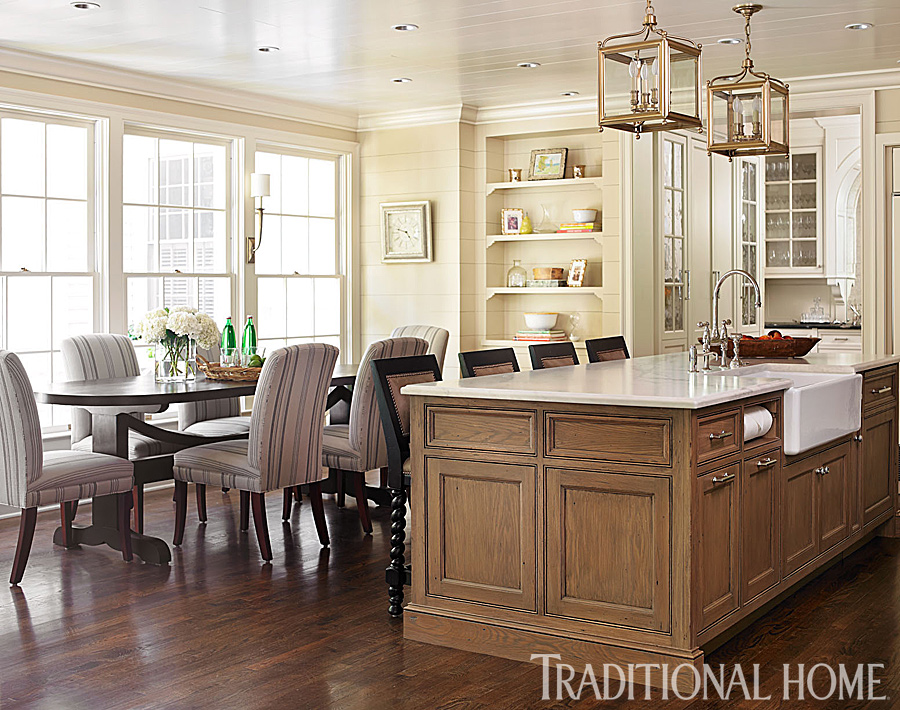 FamilyFriendly Kitchens Traditional Home
