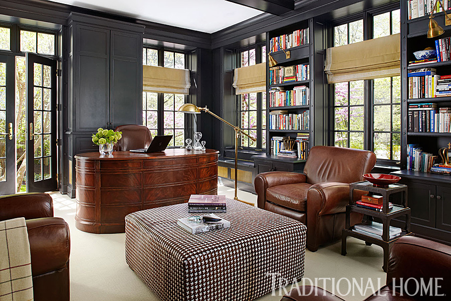 Stone And Wood Make A Dark Masculine Interior: Handsome Rooms With A Masculine Vibe