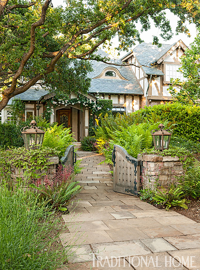 California home with an old world attitude traditional home for Traditional english home