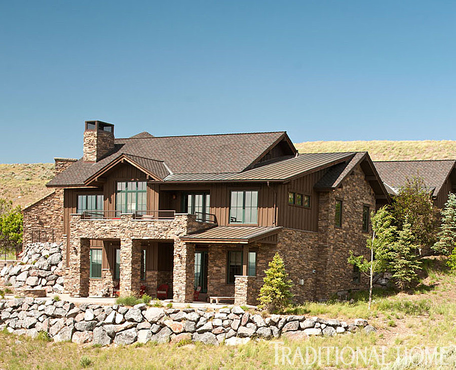 Modern Rustic Mountain Home Traditional Home