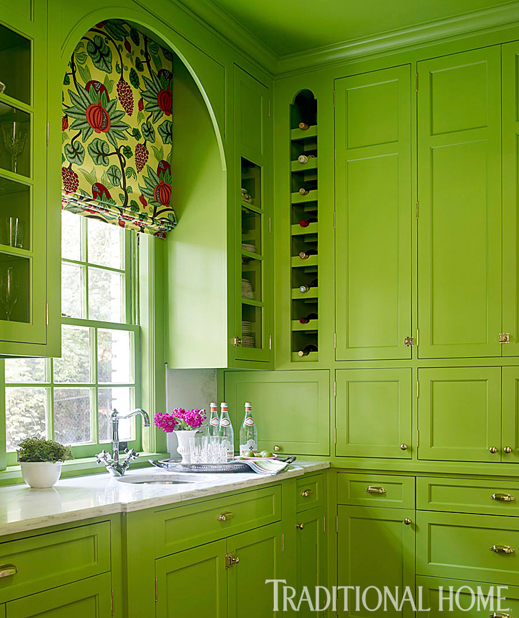 Laundry Room Pantry Ideas Benjamin Moore Antique White: Pink In Every Room