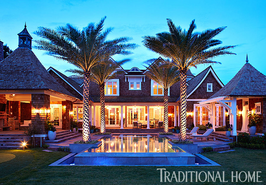 Florida Home With A Cool Blue Palette Traditional Home