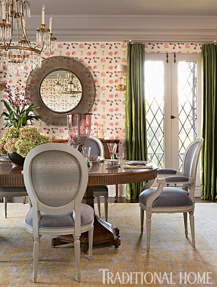 + ENLARGE. Karyn Millet. Updated Dining Room ...