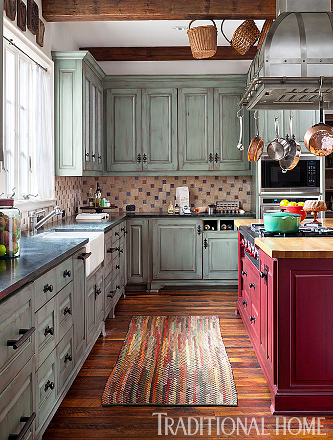 Pretty Functional Kitchen For A Foodie Traditional Home