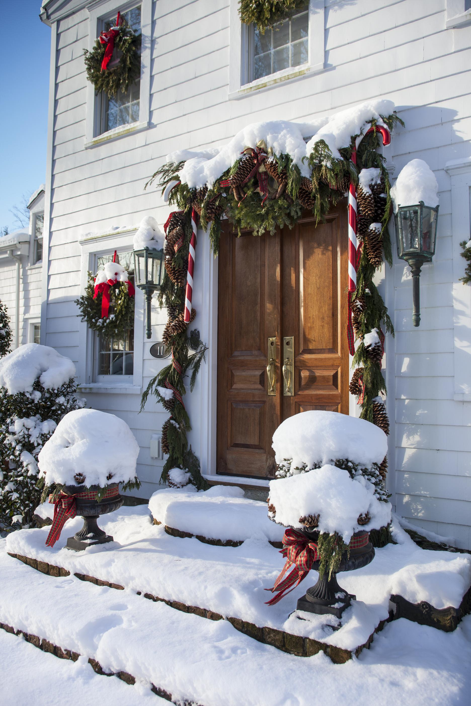 100 Traditional Home Christmas Decorating
