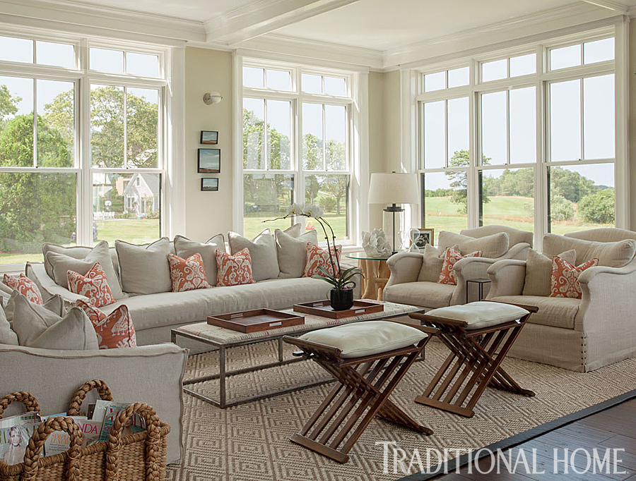 Lovely New England Summer Home With Neutral Palette