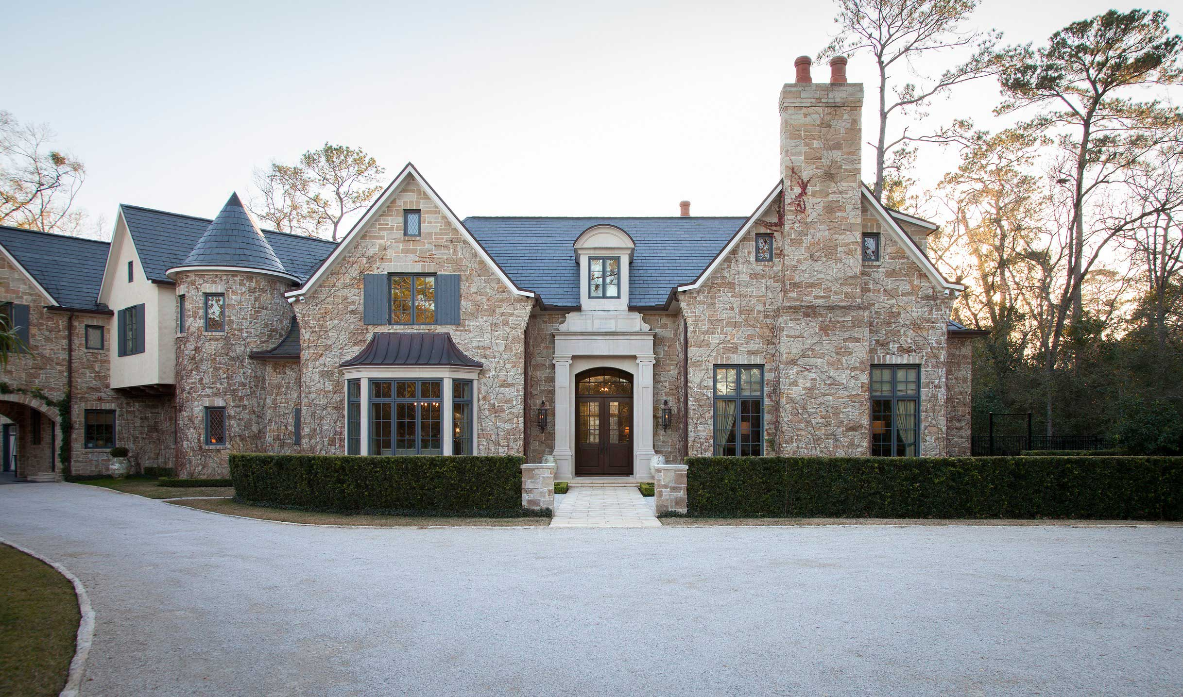 Houston home with country french appeal traditional home for Beautiful homes in houston