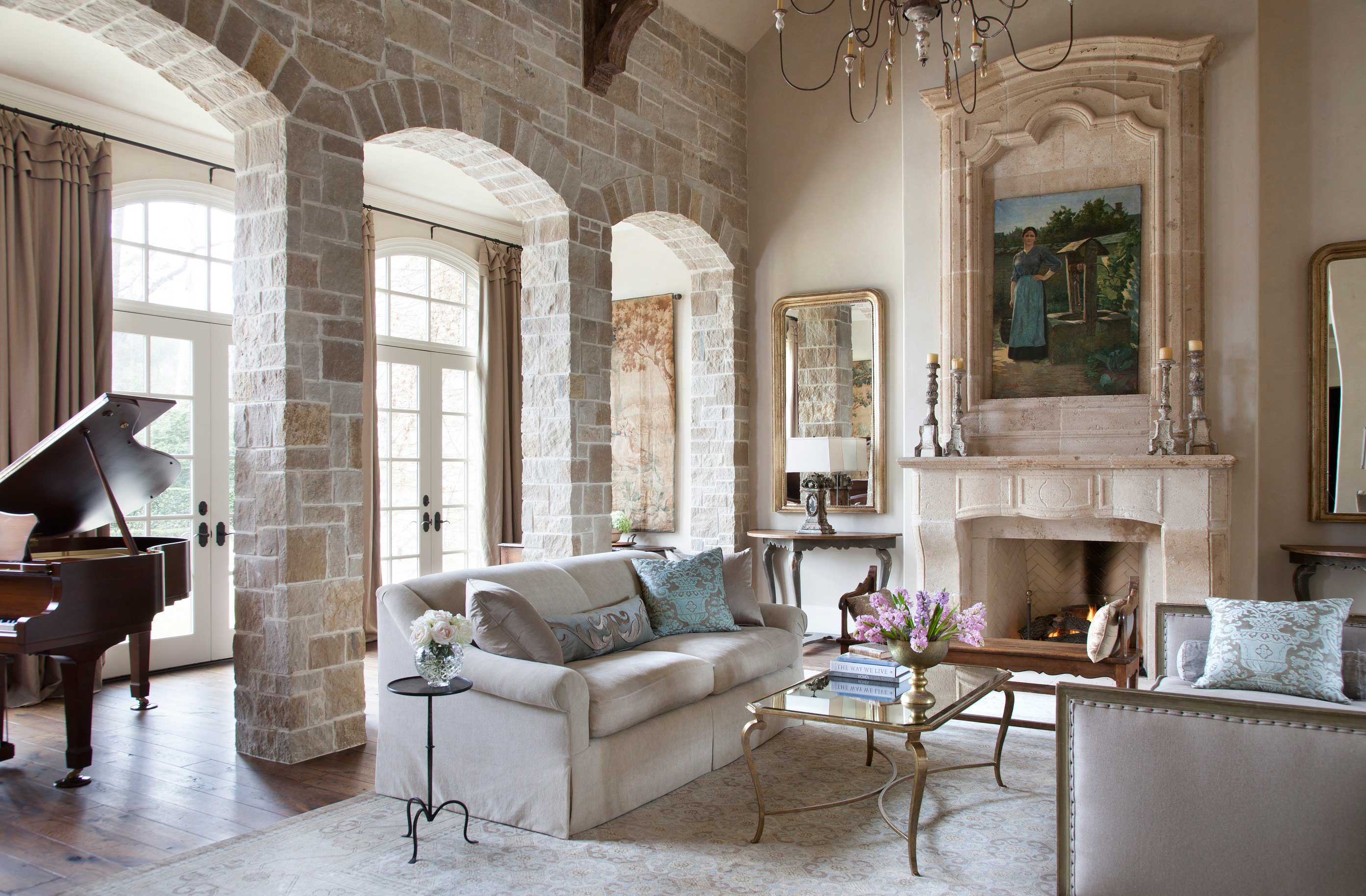 Houston Home With Country French Appeal Traditional Home
