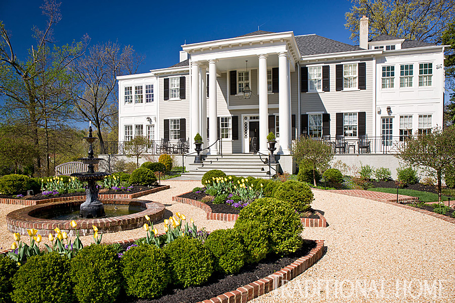 Get The Look SouthernStyle Architecture Traditional Home Best 4 Bedroom Cape Cod House Plans Exterior Decoration