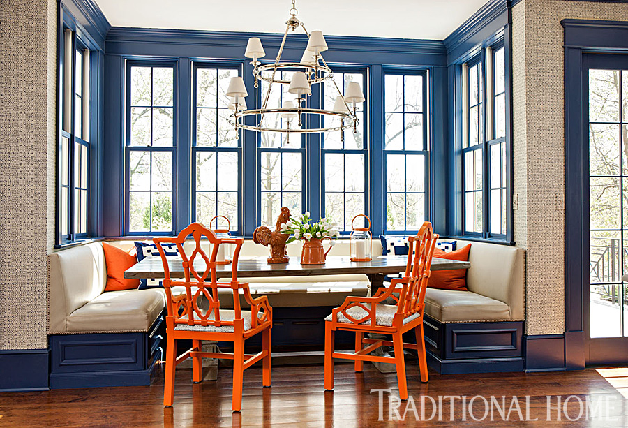 Colorful Family Home in Washington DC Traditional Home