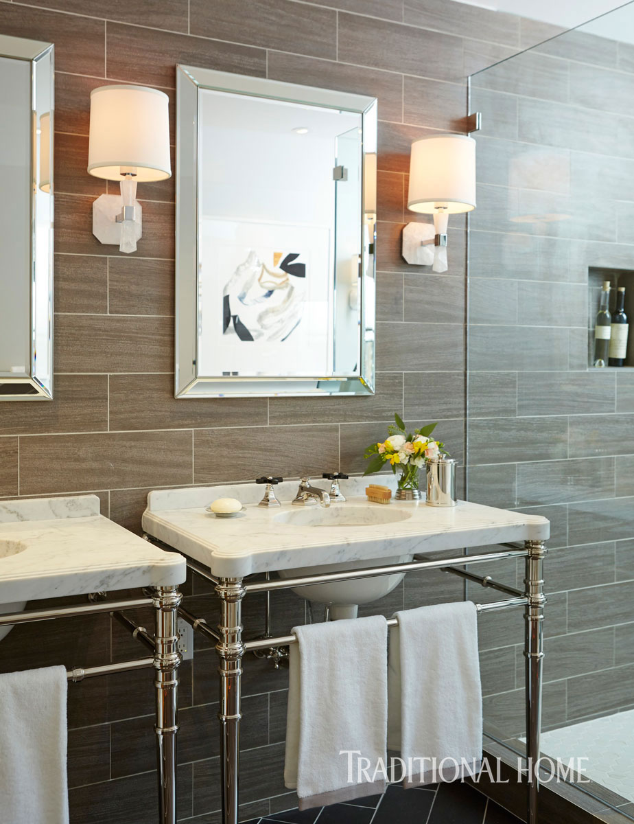 Marble Design Ideas For Your Master Bath Traditional Home
