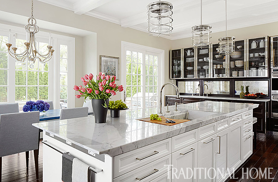 Gorgeous Kitchen Renovation by Mick De Giulio | Traditional Home
