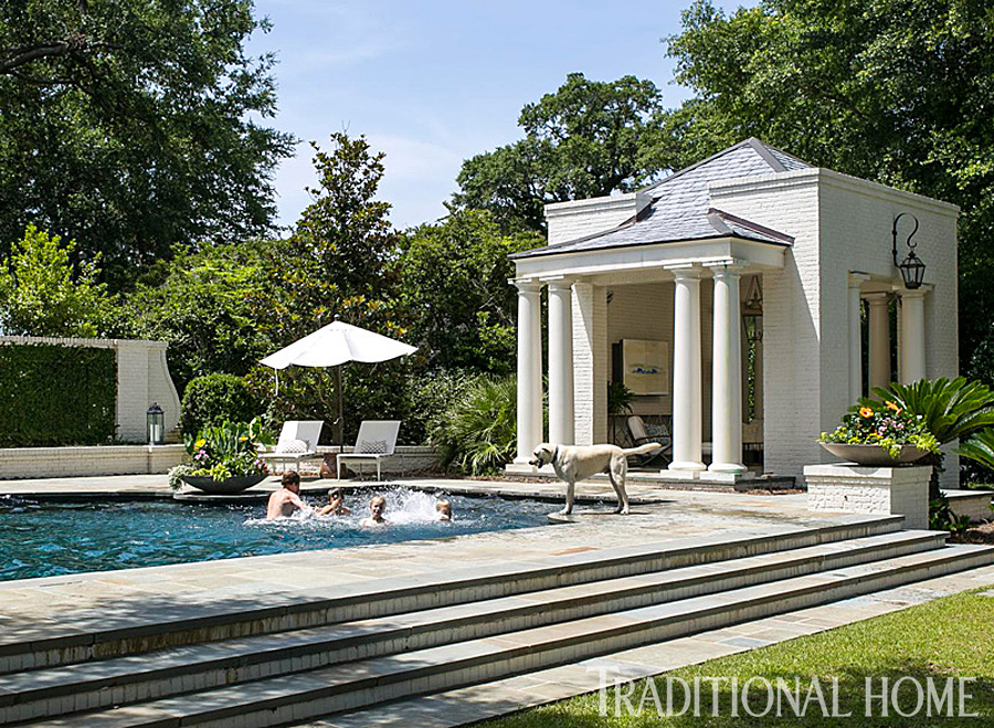 Get the Look: Southern-Style Architecture | Traditional Home Charleston Home Design And Back Yard on hangar home designs, back yard hillside waterfalls, back yard ponds and streams, back yard renovation ideas, front exterior home designs, back yard ideas with park benches, back yard dream homes, double story home designs,