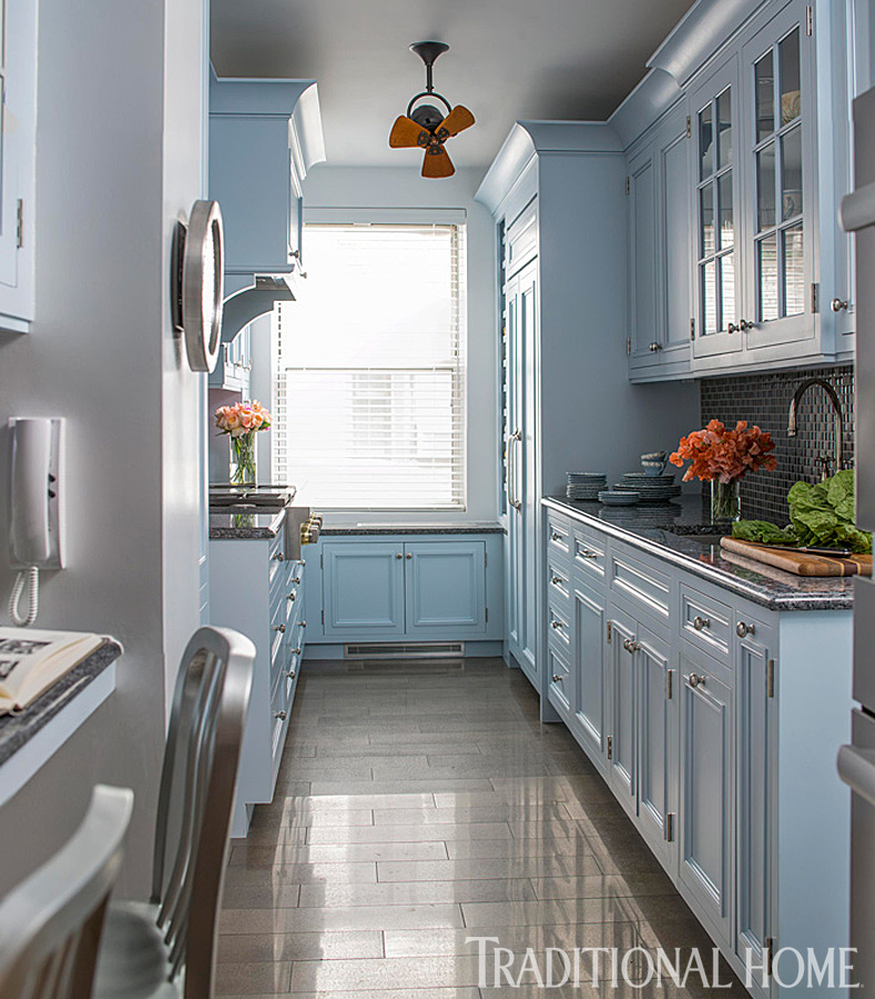 Simple Kitchen Design For Small House Kitchen: Trend: Calm Colors