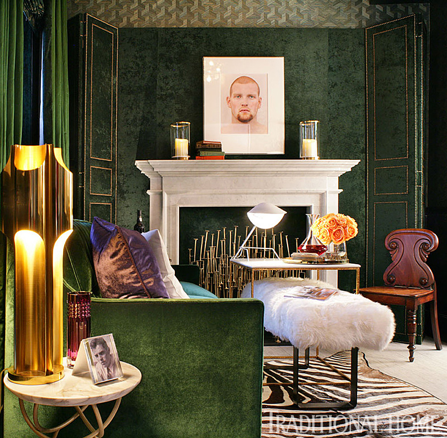 . 12 Rooms Dripping in Jewel Tones   Traditional Home