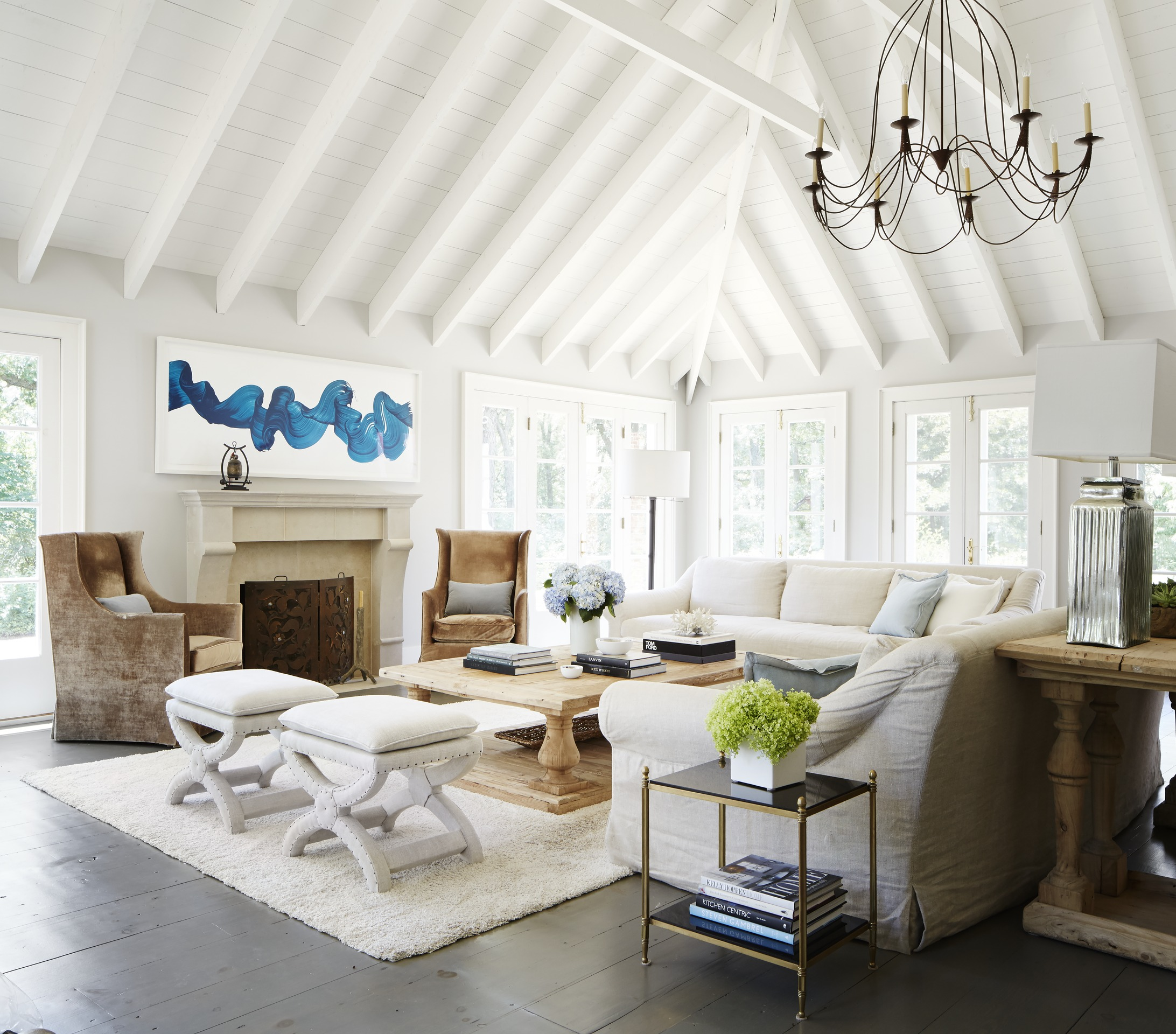 Chicago Area Home With Chic Cottage Style Traditional Home
