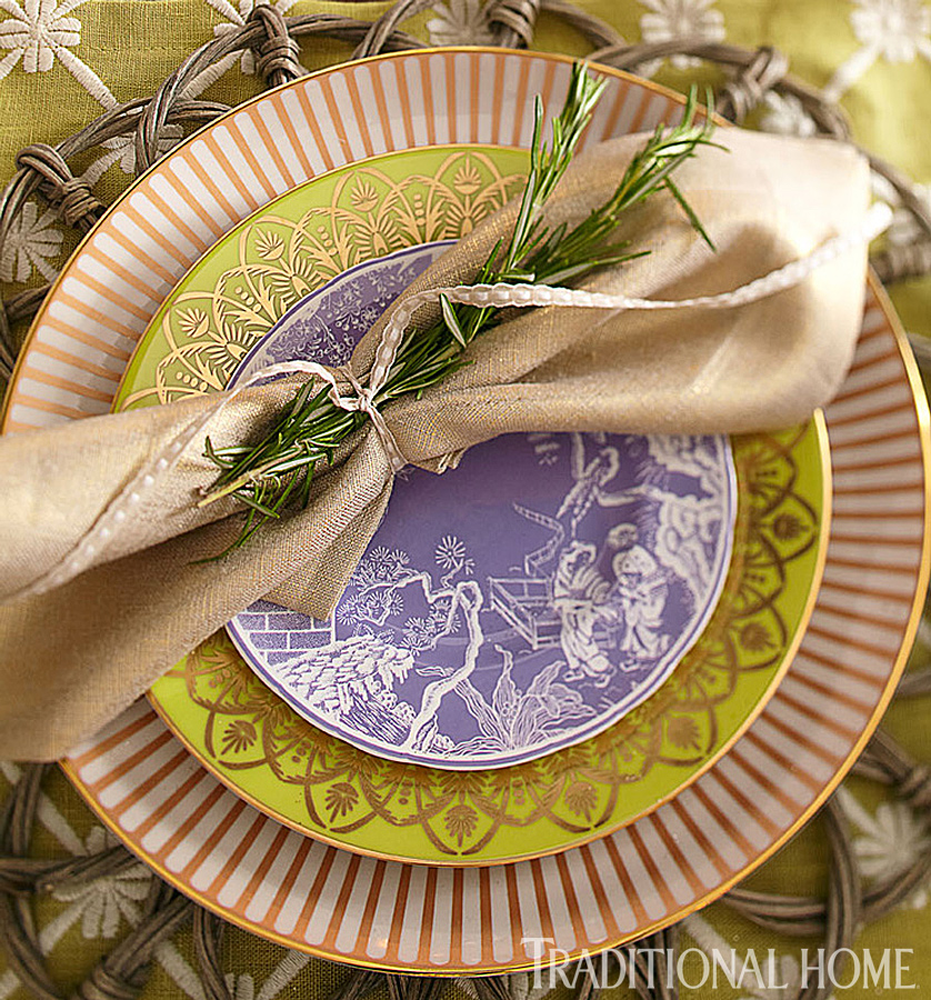 Great gatherings two holiday dinners traditional home for Thanksgiving home ideas