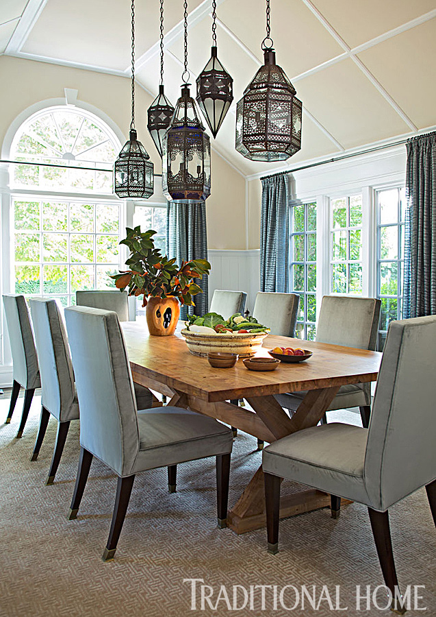 Get the Look: Overscale Lighting | Traditional Home