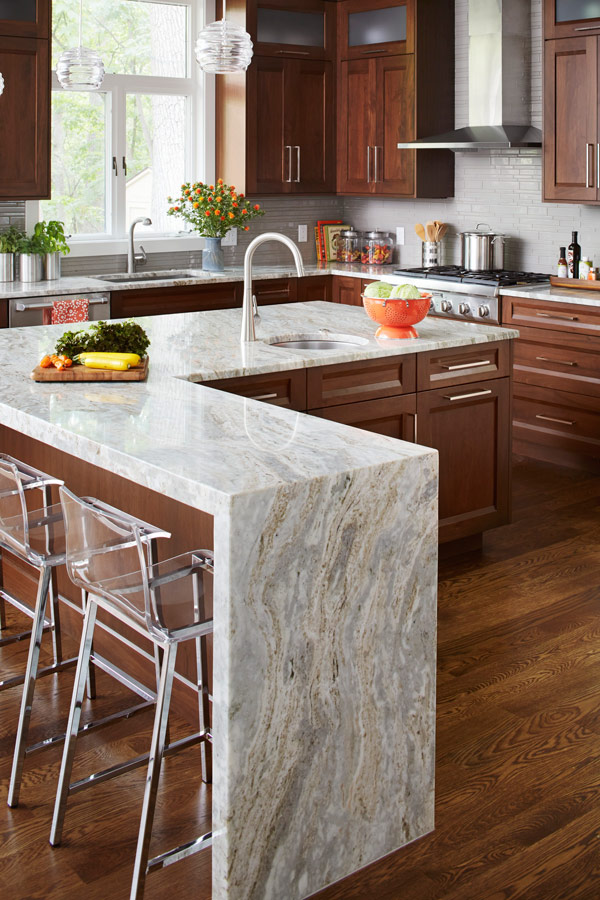 12 great kitchen island ideas traditional home - Kitchen island in small kitchen designs ...