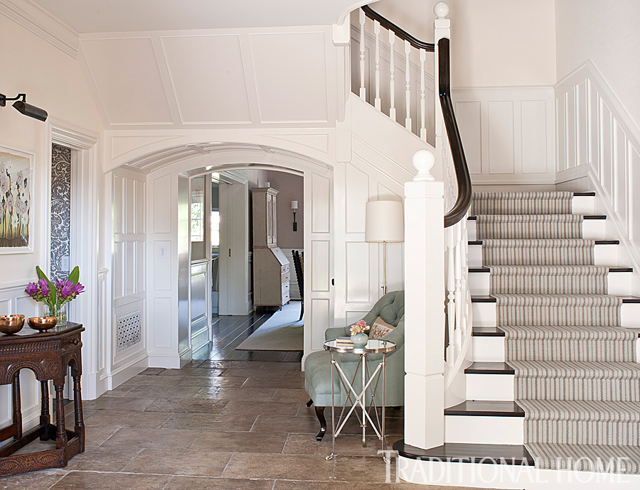 Jupiter House Foyer Hayes : Before and after actor sean hayes hollywood home