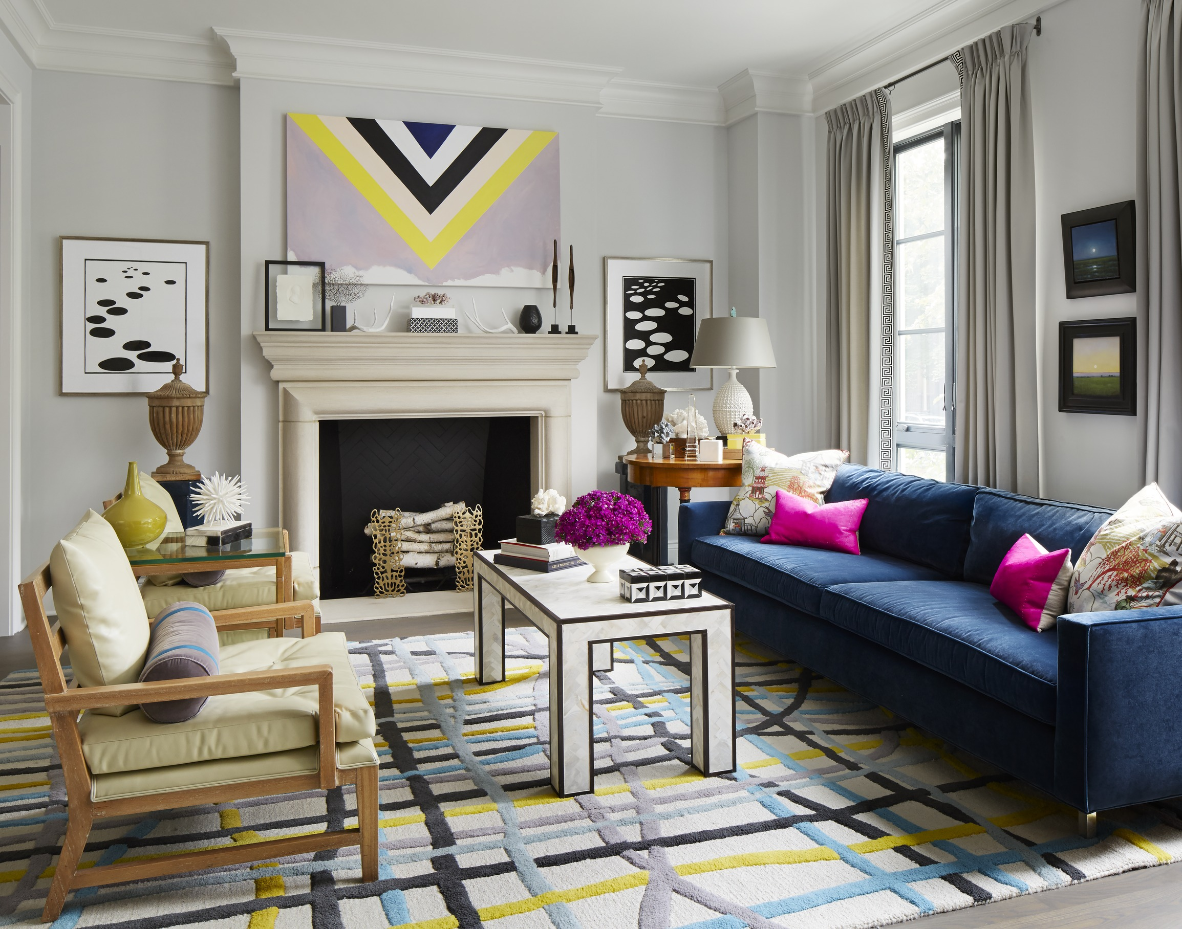 Vibrant Chicago Home Traditional Home