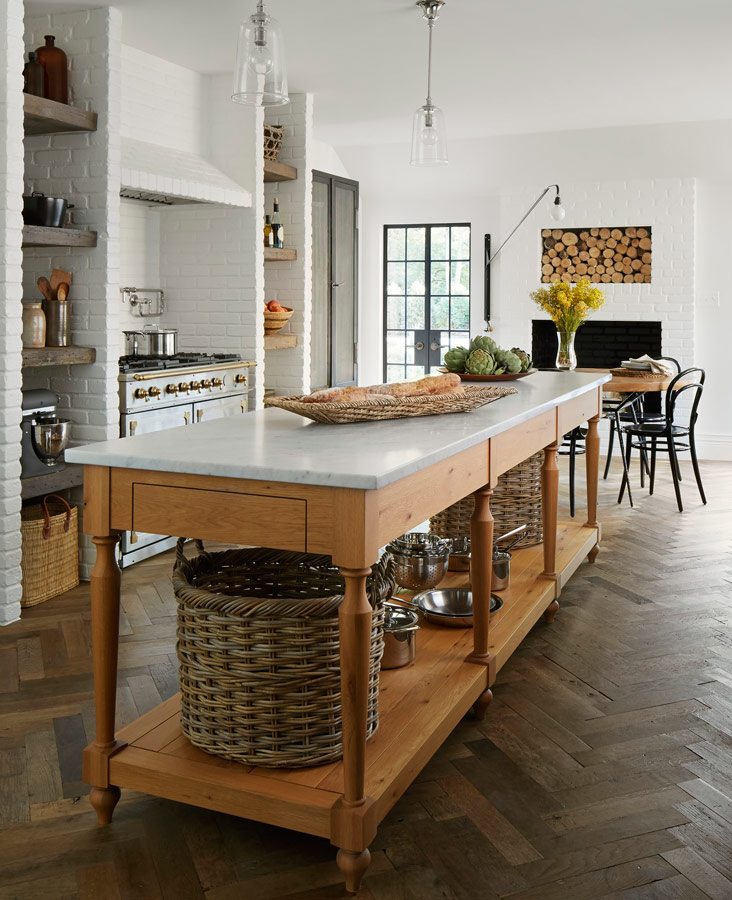 Kitchen Island Ideas 12 great kitchen island ideas | traditional home