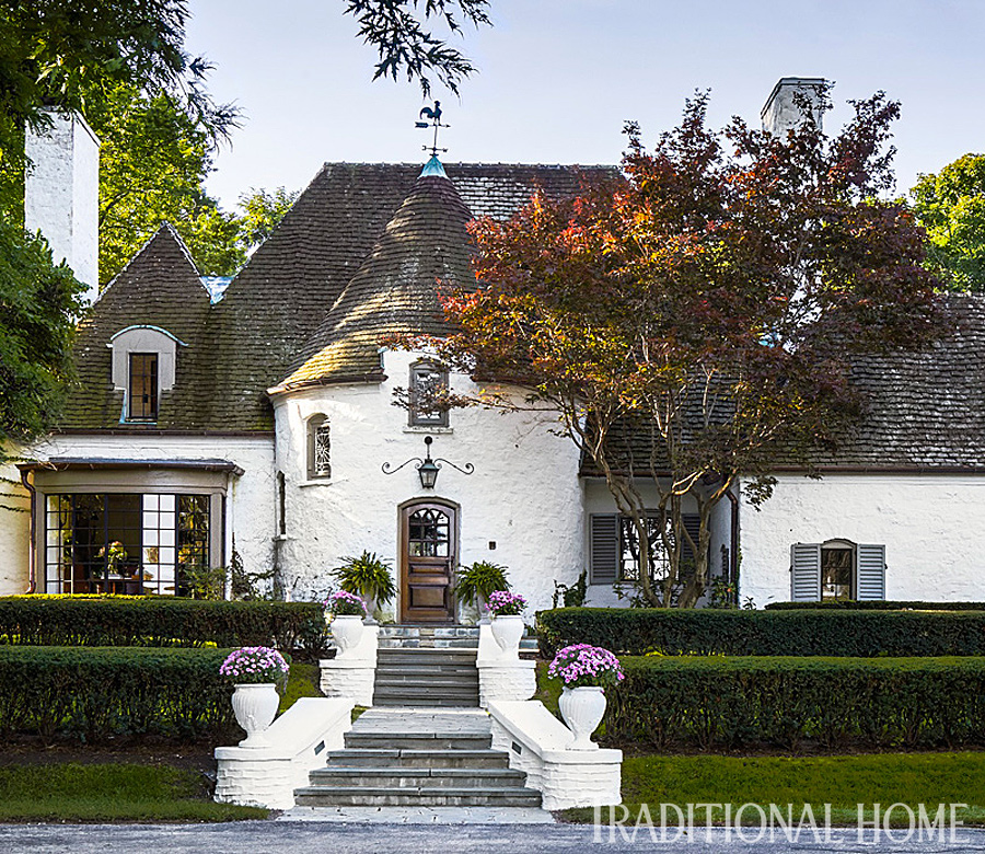 Gorgeous Updated Classic Home: Tudor-Style Home With A Modern Makeover