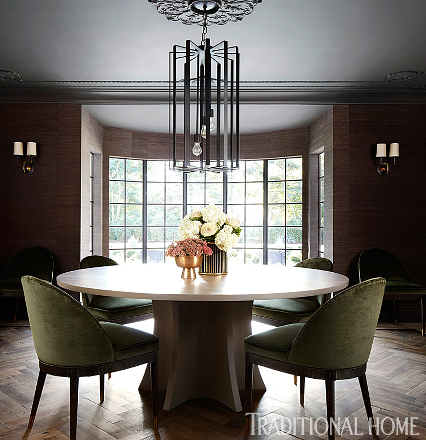 Dining Room Home: Tudor-Style Home With A Modern Makeover
