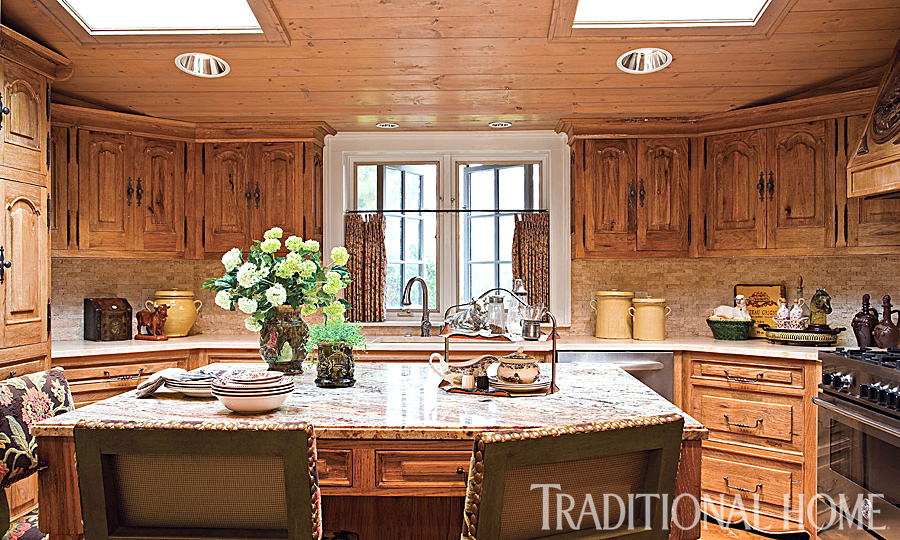 Hydrangea Hill Cottage French Country Decorating: Carolina Cabin Designed By Charles Faudree