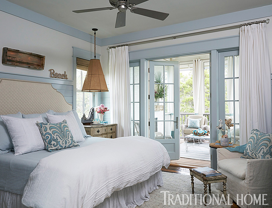 Spacious Home With Seaside Palette Traditional Home