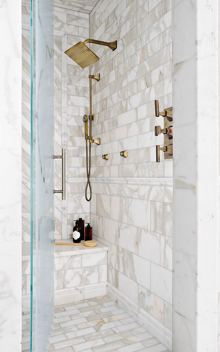 Mind-Blowing Master-Bath Showers | Traditional Home