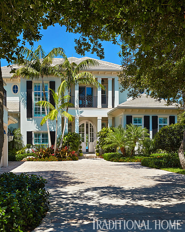 Pictures Of Beach Houses In Florida: Colorful Florida Beach Home Designed By Gary McBournie