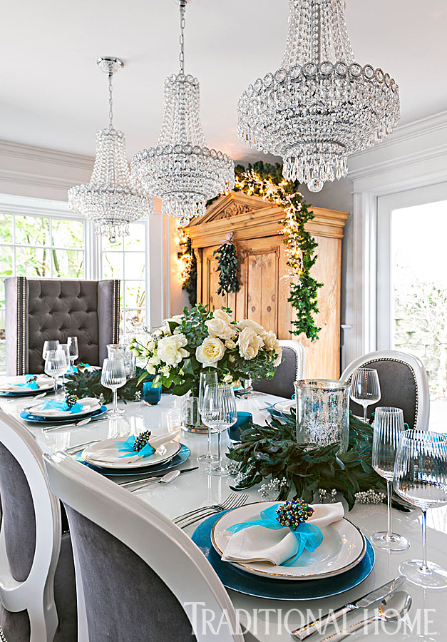 Holiday Home in Blue and White | Traditional Home