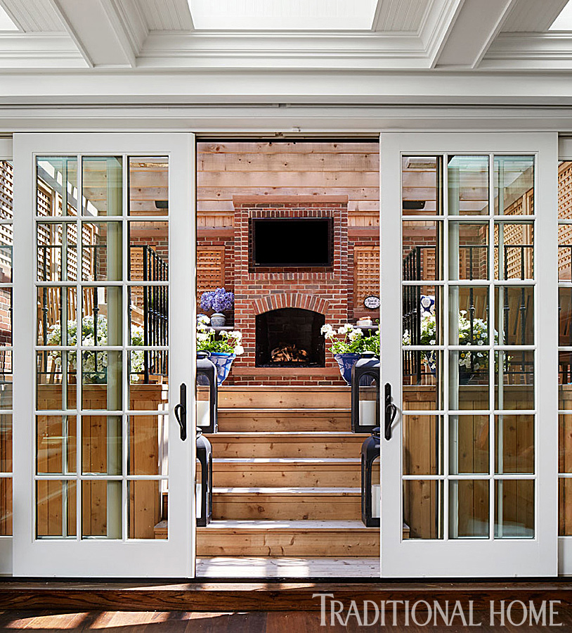 Bill And Giuliana Rancic S Chicago Home Traditional Home