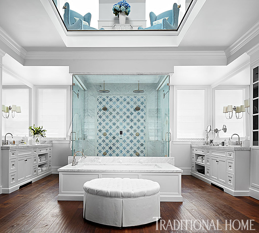 Beautiful master bathroom ideas traditional home - Master bathroom with shower and tub ...