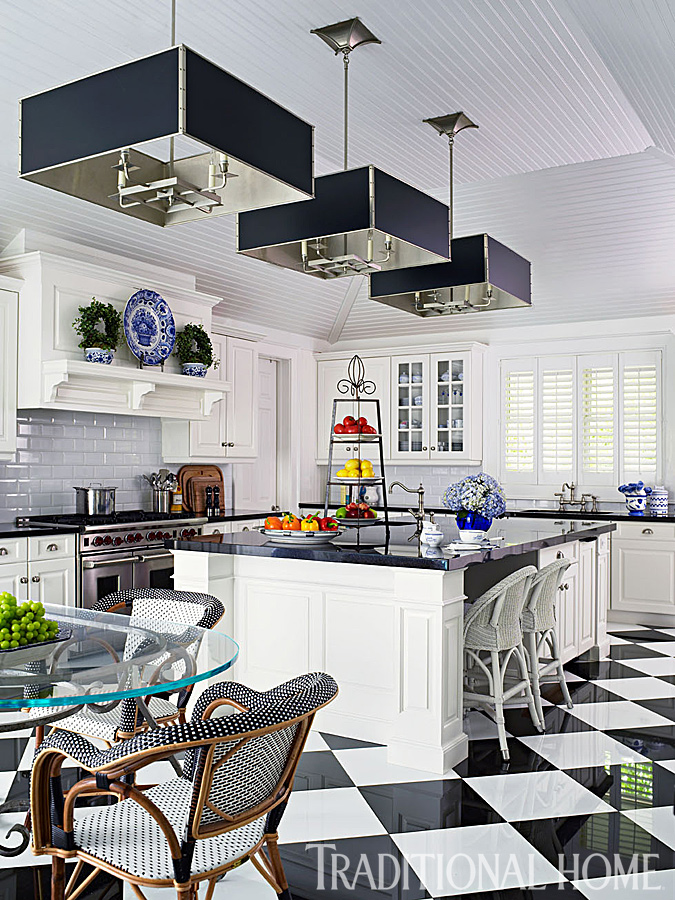 A Fashion Designer's Home in the Hamptons | Traditional Home on