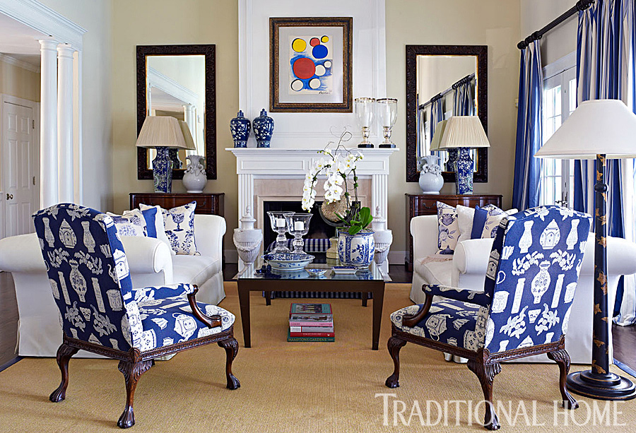 A Fashion Designer\'s Home in the Hamptons | Traditional Home