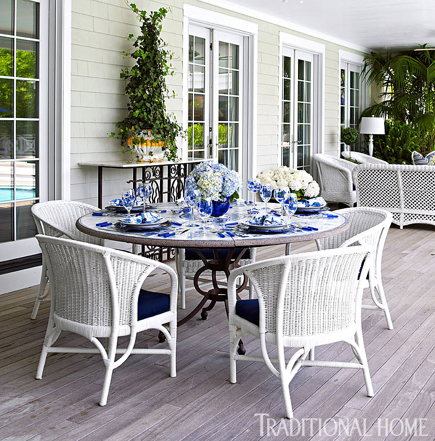 A Fashion Designer S Home In The Hamptons Traditional Home