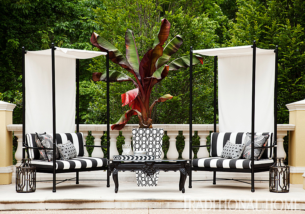 48 Atlanta Symphony Showhouse Traditional Home Delectable Atlanta Outdoor Furniture Creative
