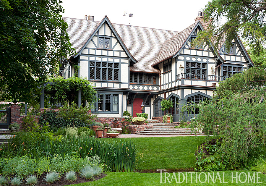 Enlarge emily minton redfield a meticulously restored tudor house