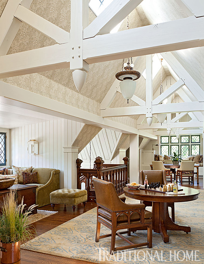 Meticulously Restored Tudor House In Utah Traditional Home