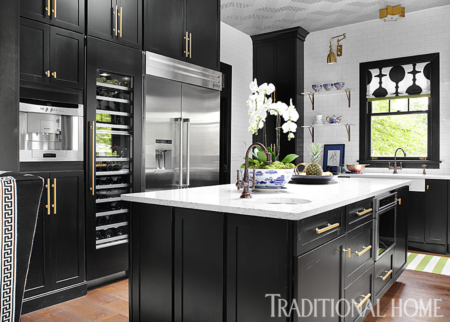Kitchen Magazine fabulous before-and-after showhouse kitchen | traditional home
