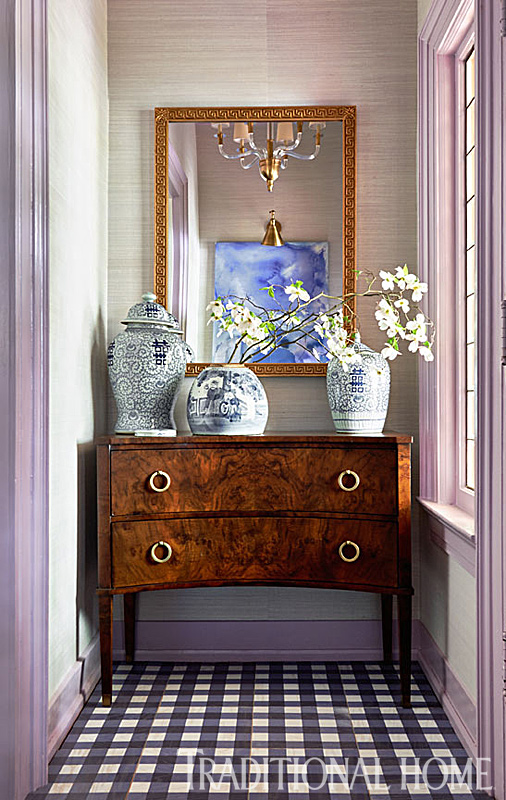 Traditional Foyer Images : Junior league of high point designer showhouse