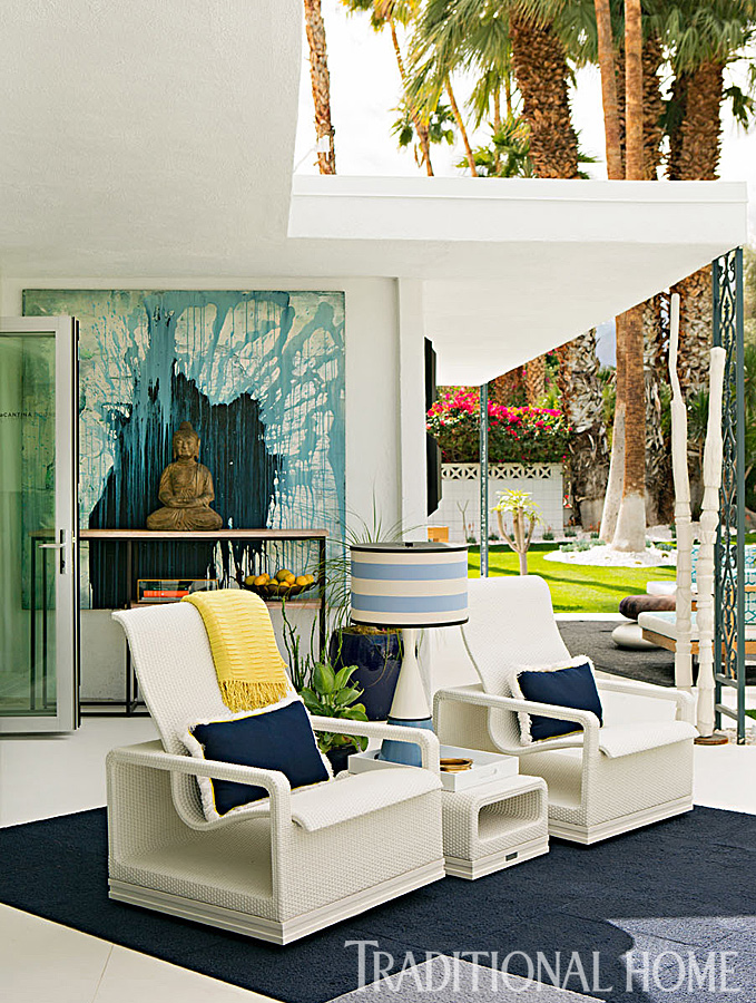 The christopher kennedy compound showhouse traditional home for Teich design new york