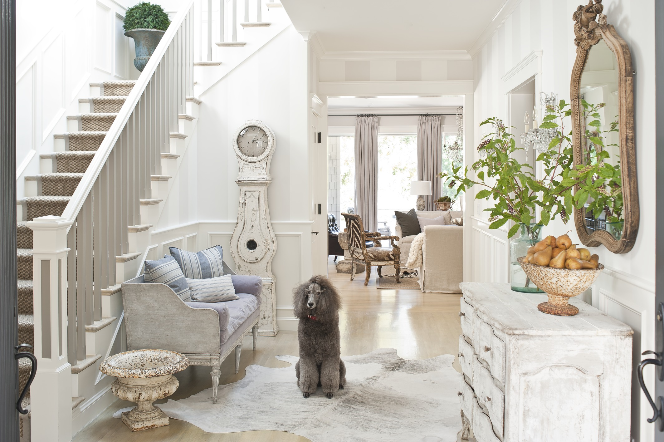 French Flair in a San Francisco Townhome | Traditional Home