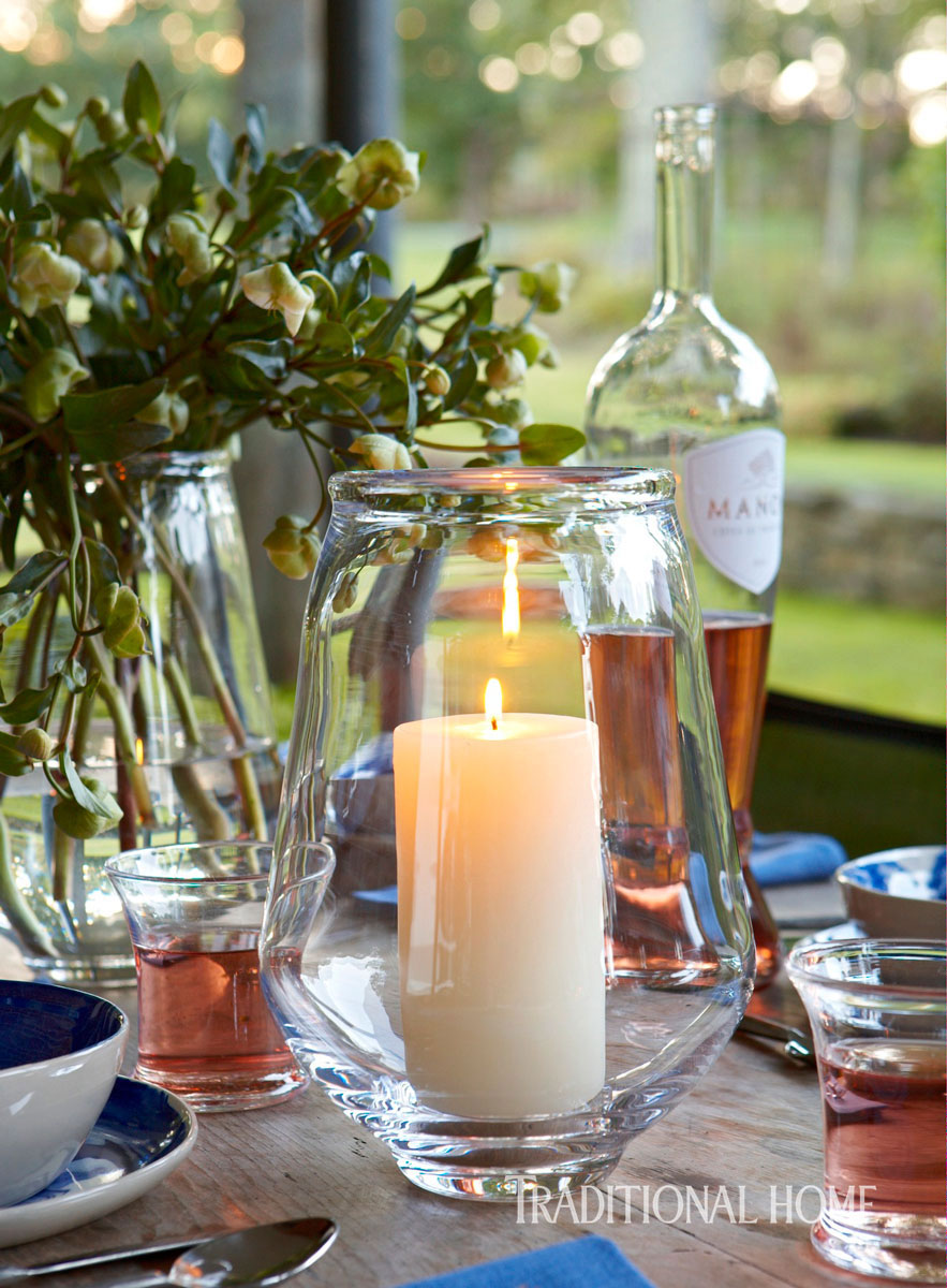 At Home With Glassmaker Simon Pearce Traditional Home