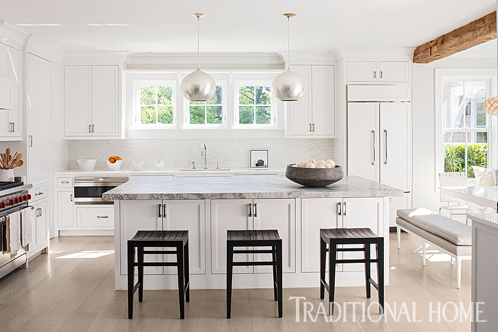 Nantucket Home With A Quiet Palette Traditional Home