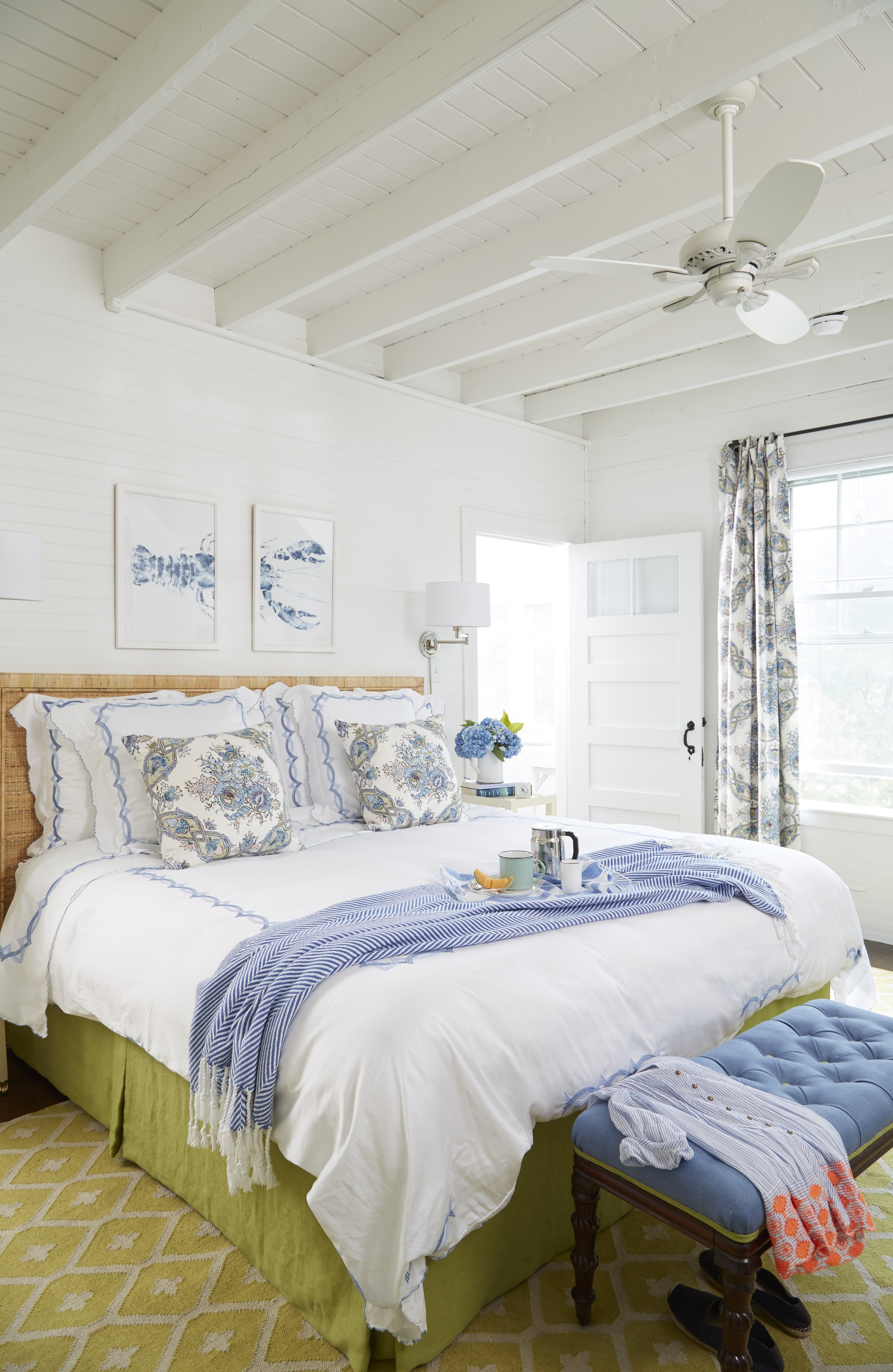 Casual Cheerful Beach Cottage Traditional Home