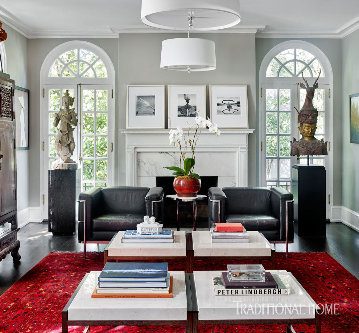 Designer Vern Yip S Georgia Home Traditional Home