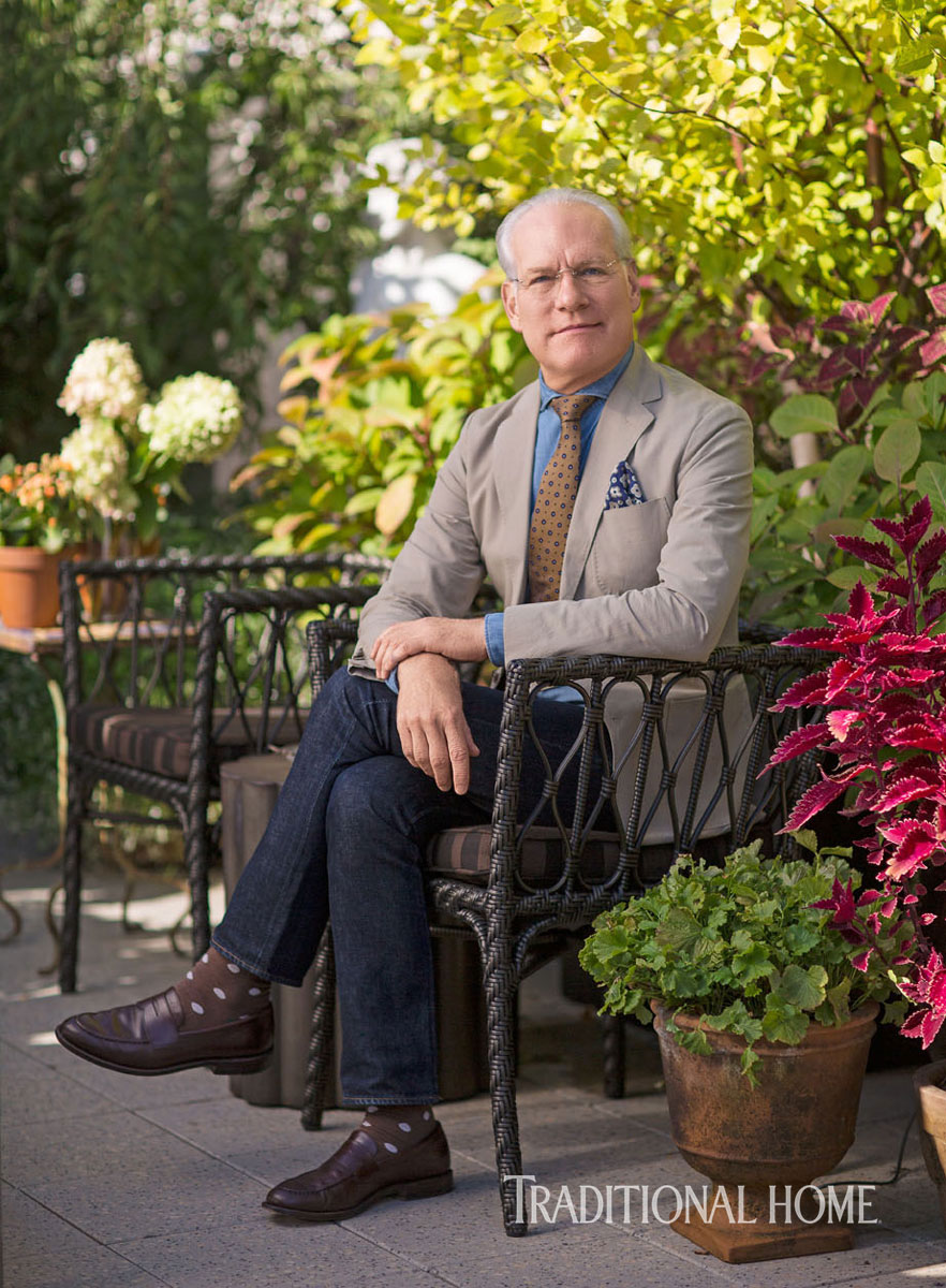 Tim Gunn S New York Apartment And Terrace Garden